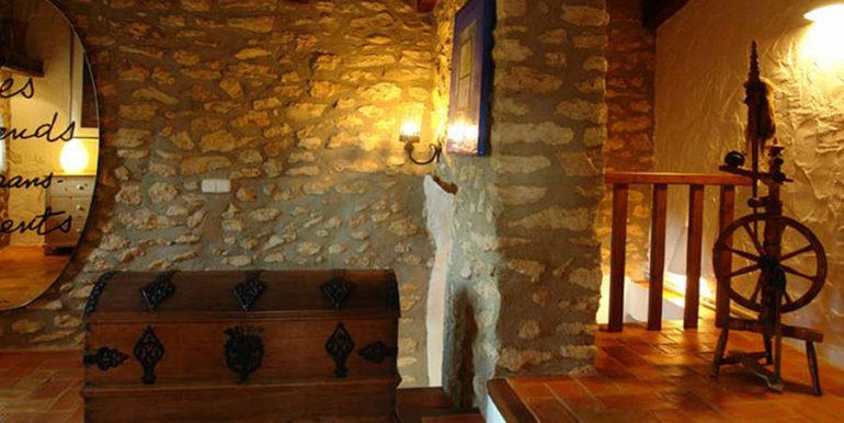 Exceptional stone finca in Moraira Sabatera - Corridor - ID: 5500006