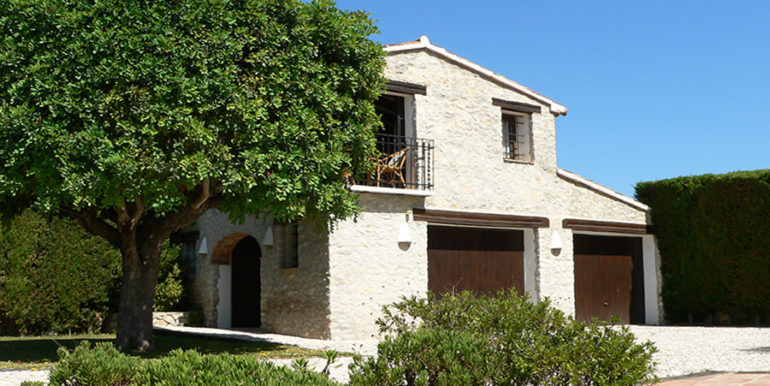 Exceptional stone finca in Moraira Sabatera - Garage and guest apartment - ID: 5500006