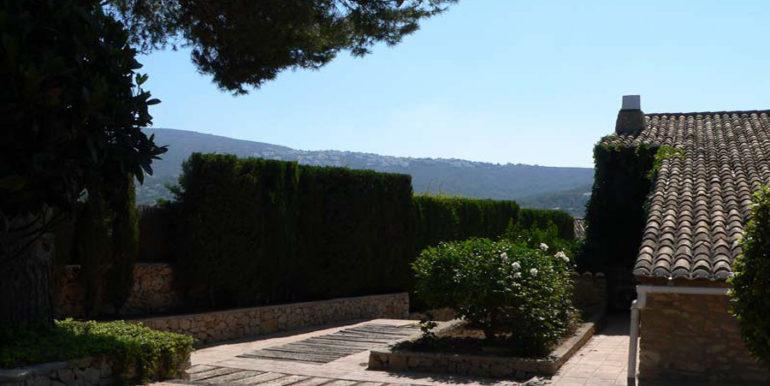 Exceptional stone finca in Moraira Sabatera - Garden - ID: 5500006