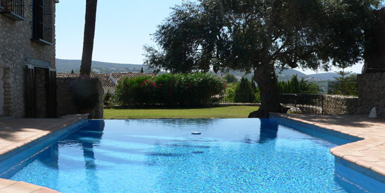 Exceptional stone finca in Moraira Sabatera – Pool – ID: 5500006
