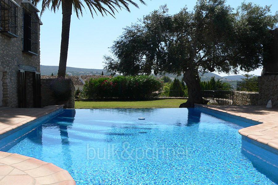 Exceptional stone finca moraira sabatera costa blanca - Swimming pool repairs costa blanca ...