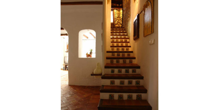 Exceptional stone finca in Moraira Sabatera – Stairway – ID: 5500006
