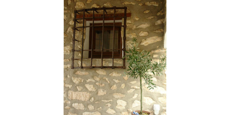 Exceptional stone finca in Moraira Sabatera - Window grating - ID: 5500006