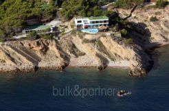 Exclusive luxury villa in Playa del Albir -  View from the sea - ID: 5500224