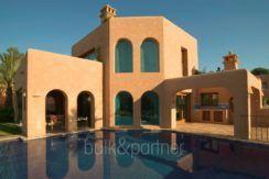 Extraordinaria villa estilo ibicenco en Moraira El Portet - Piscina - ID: 5500001