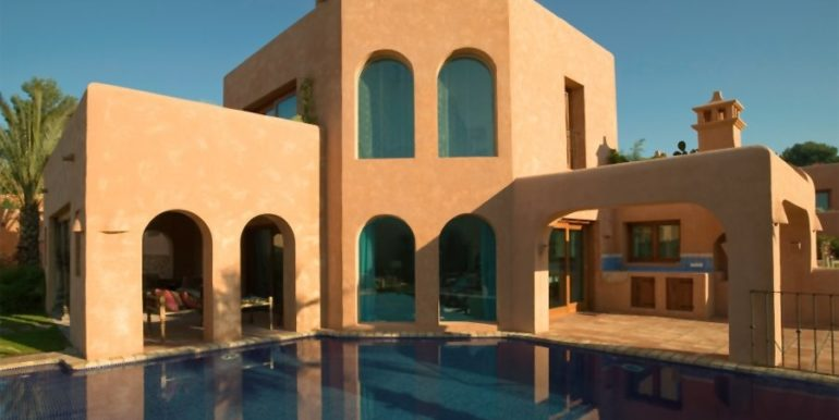 Extraordinaria villa estilo ibicenco en Moraira El Portet - Piscina - ID: 5500001 - Arquitecto Joaquín Lloret