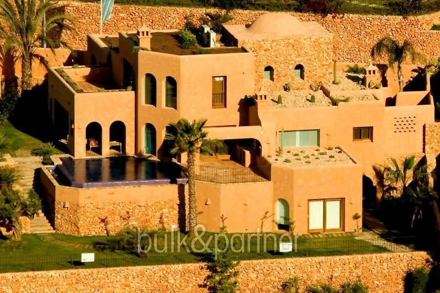 Extraordinary ibiza style villa moraira el portet costa blanca - Villa el portet ...