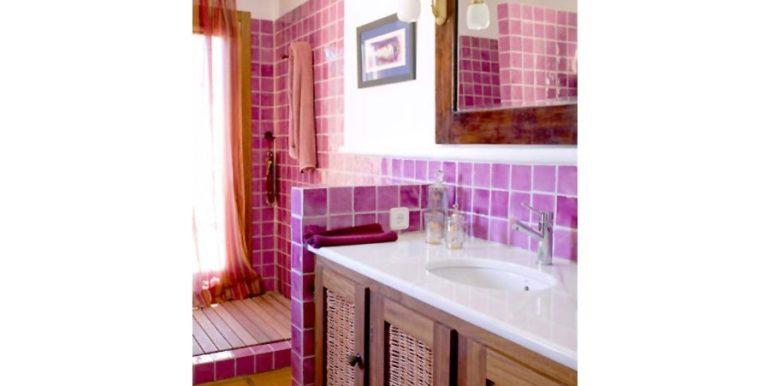 Extraordinary Ibiza style villa in Moraira El Portet - Bathroom - ID: 5500001
