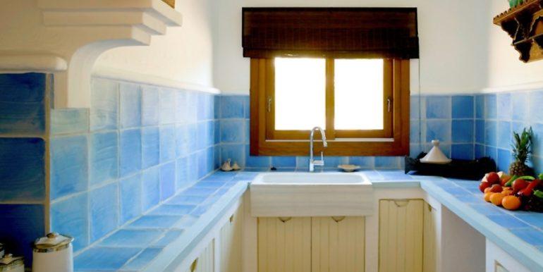Aussergewöhnliche Ibiza-Style Villa in Moraira El Portet - Küche - ID: 5500001 - Architekt Joaquín Lloret