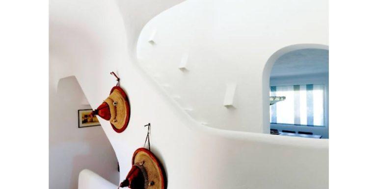 Extraordinaria villa estilo ibicenco en Moraira El Portet - Escalera - ID: 5500001 - Arquitecto Joaquín Lloret