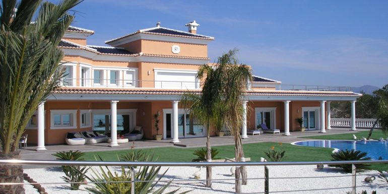 First line luxury villa in Moraira Cap Blanc - ID: 5500054