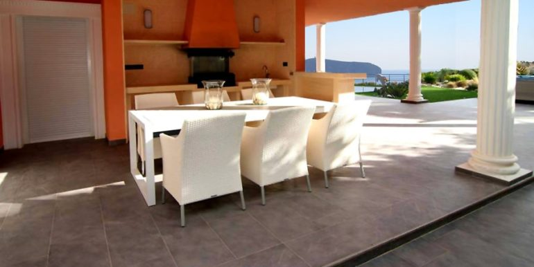 First line luxury villa in Moraira Cap Blanc - BBQ - ID: 5500054