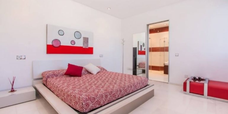 First line luxury villa in Moraira Cap Blanc - Bedroom - ID: 5500003