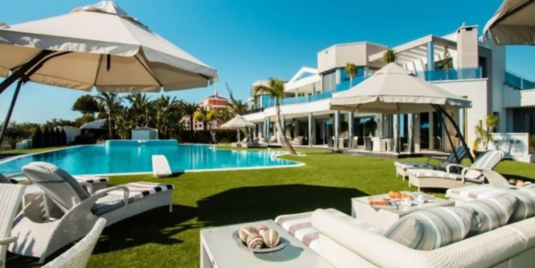 First line luxury villa in Moraira Cap Blanc - Garden - ID: 5500003
