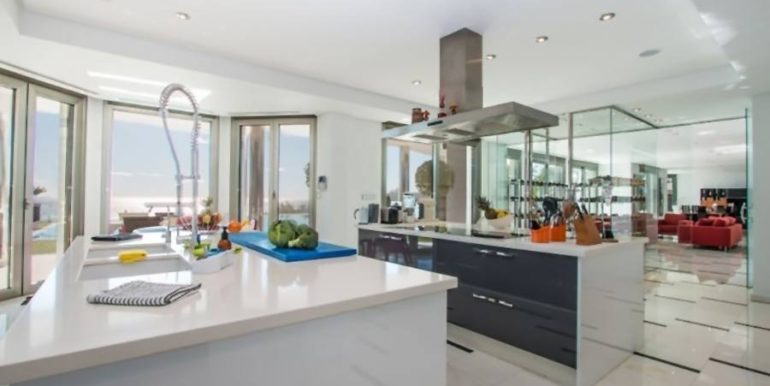 First line luxury villa in Moraira Cap Blanc - Kitchen - ID: 5500003