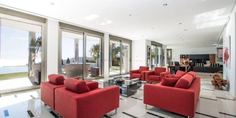 First line luxury villa in Moraira Cap Blanc - Living room - ID: 5500003