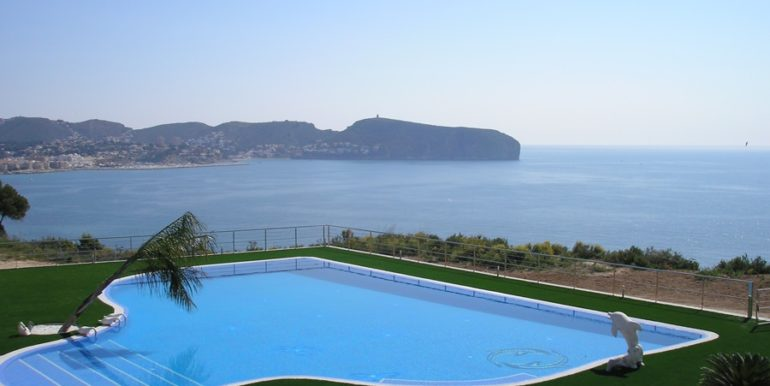 First line luxury villa in Moraira Cap Blanc - Sea view - ID: 5500054