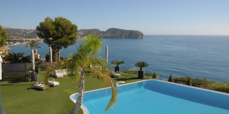 First line luxury villa in Moraira Cap Blanc - Sea view - ID: 5500003
