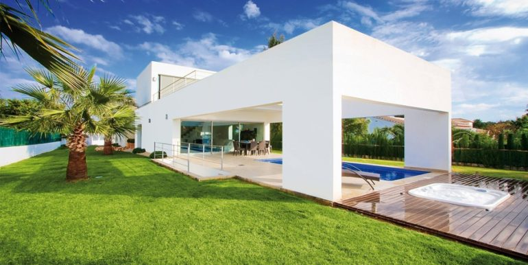Modern and minimalist villa in Jávea La Guardia Park – ID: 5500034