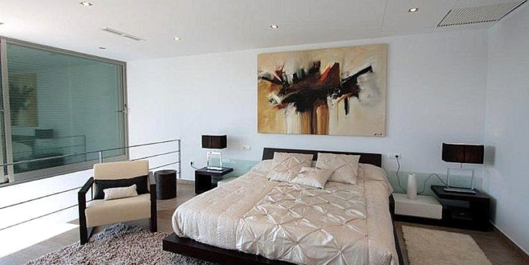 Modern and minimalist villa in Jávea La Guardia Park - Bedroom - ID: 5500034