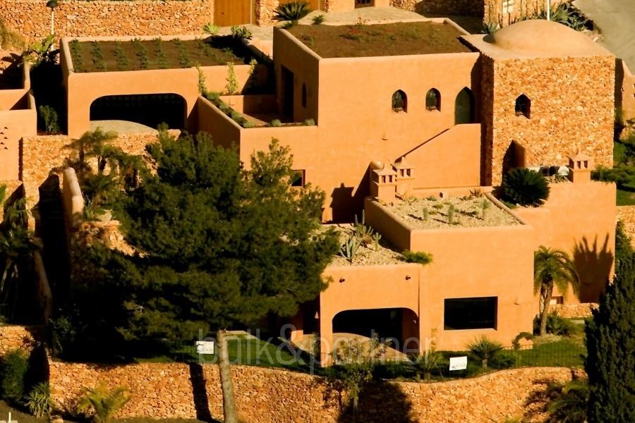 Moderne ibiza style villa moraira el portet costa blanca - Villa el portet ...