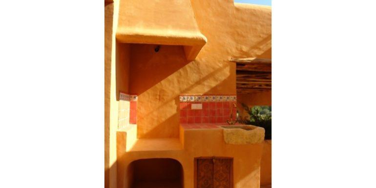 Moderne Ibiza-Style Villa in Moraira El Portet - Aussengrill - ID: 5500002 - Architekt Joaquín Lloret