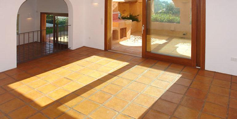 Modern Ibiza style villa in Moraira El Portet - Dining room - ID: 5500002