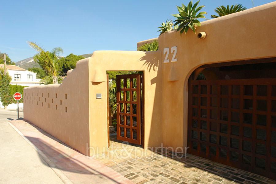 Modern ibiza style villa moraira el portet costa blanca - Villa el portet ...