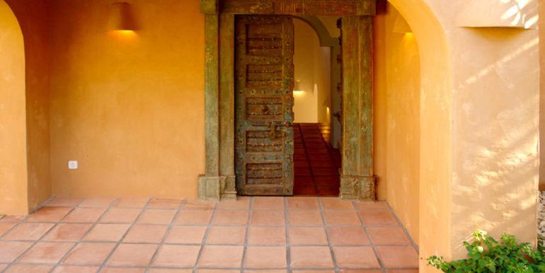Modern Ibiza style villa in Moraira El Portet - Entrance - ID: 5500002