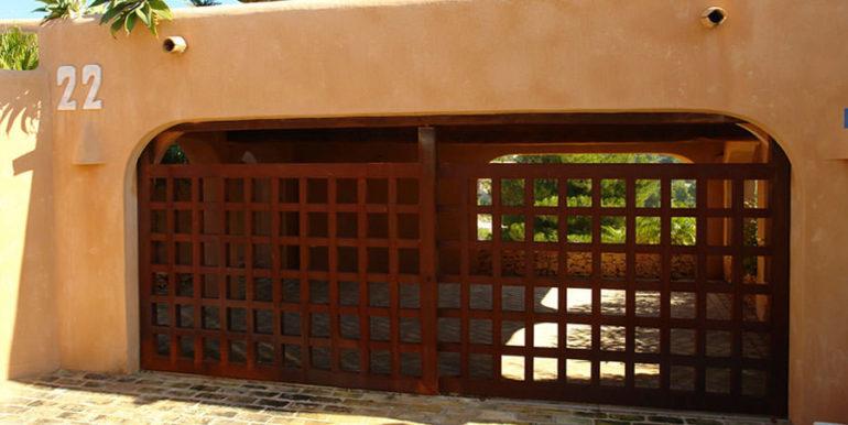 Moderne Ibiza-Style Villa in Moraira El Portet - Garage - ID: 5500002 - Architekt Joaquín Lloret