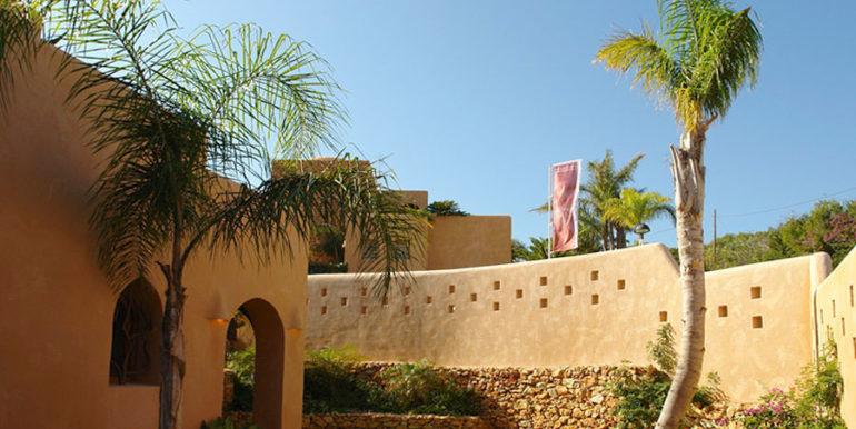 Moderne Ibiza-Style Villa in Moraira El Portet - Garten - ID: 5500002 - Architekt Joaquín Lloret