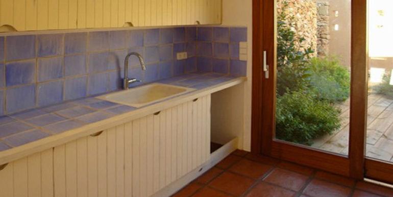 Moderne Ibiza-Style Villa in Moraira El Portet - Küche - ID: 5500002 - Architekt Joaquín Lloret