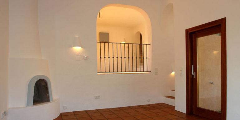 Modern Ibiza style villa in Moraira El Portet - Living room - ID: 5500002