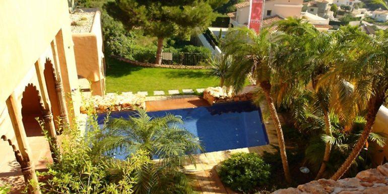 Moderne Ibiza-Style Villa in Moraira El Portet - Pool - ID: 5500002 - Architekt Joaquín Lloret