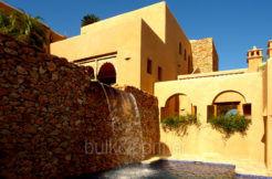 Moderna villa estilo ibicenco en Moraira El Portet - Piscina y cascada - ID: 5500002 - Arquitecto Joaquín Lloret