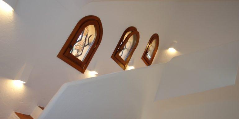 Moderne Ibiza-Style Villa in Moraira El Portet - Treppenhaus - ID: 5500002 - Architekt Joaquín Lloret