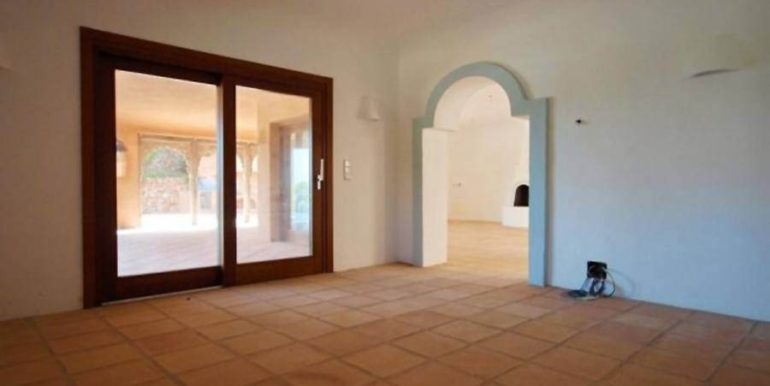 Ibiza style villa with sea views in Moraira El Portet - Dining room - ID: 5500022