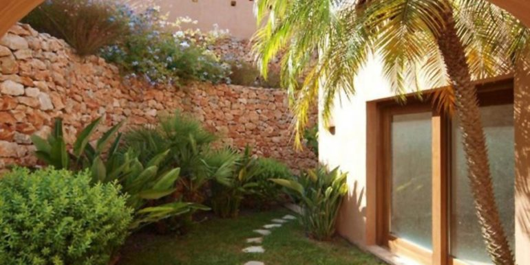 Ibiza style villa with sea views in Moraira El Portet - Garden - ID: 5500022
