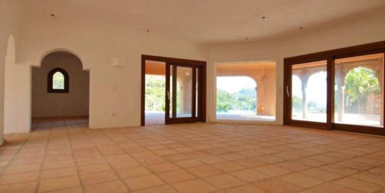 Ibiza style villa with sea views in Moraira El Portet - Living room - ID: 5500022