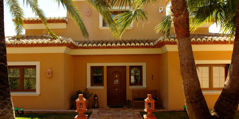 Modern villa with sea views in Benissa Fanadix – Entrance – ID: 5500012