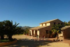 Stone finca with gardens and sea views in Benissa Canor – ID: 5500007