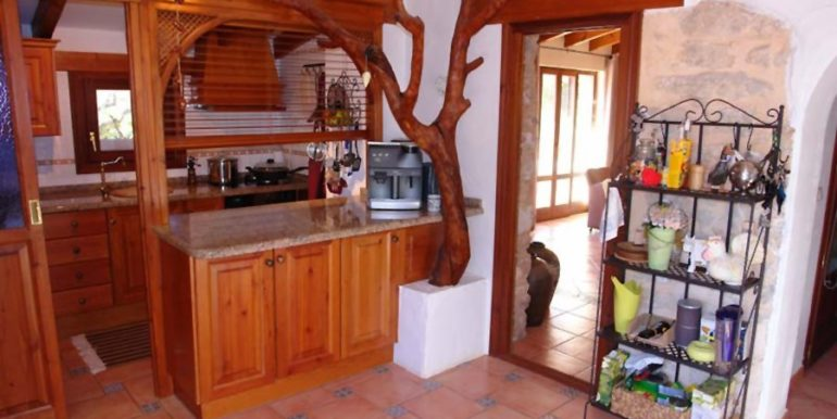 Stone finca with gardens and sea views in Benissa Canor - Kitchen - ID: 5500007