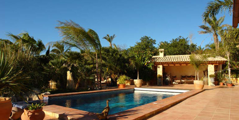 Stone finca with gardens and sea views in Benissa Canor - Pool - ID: 5500007