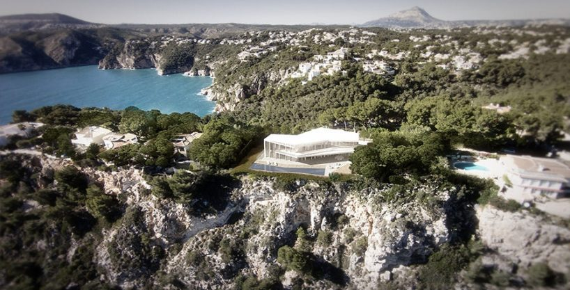 Minimalist waterfront luxury villa in Jávea