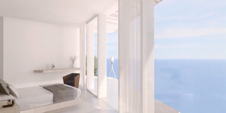 First line luxury Villa in Jávea Ambolo – Bedroom – ID: 5500655 - Architect Ramón Esteve