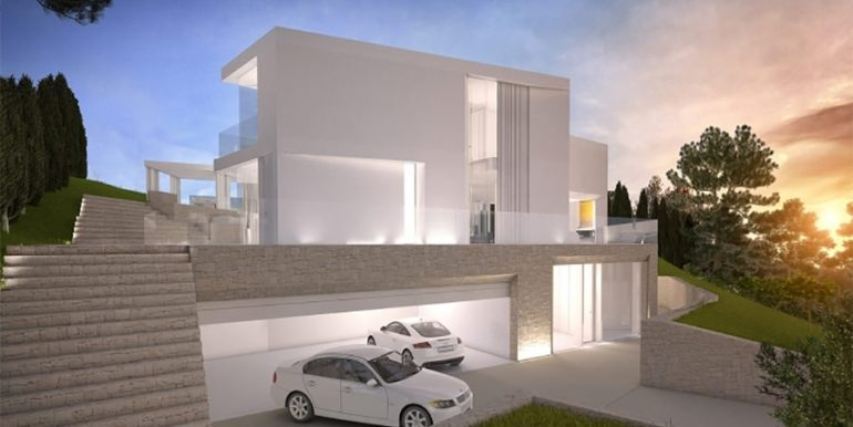 First line luxury Villa in Jávea Ambolo – At night – ID: 5500655 - Architect Ramón Esteve