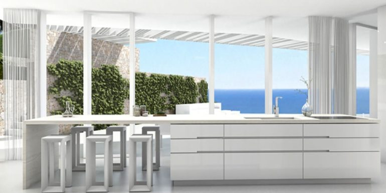 First line luxury Villa in Jávea Ambolo – Kitchen – ID: 5500655 - Architect Ramón Esteve
