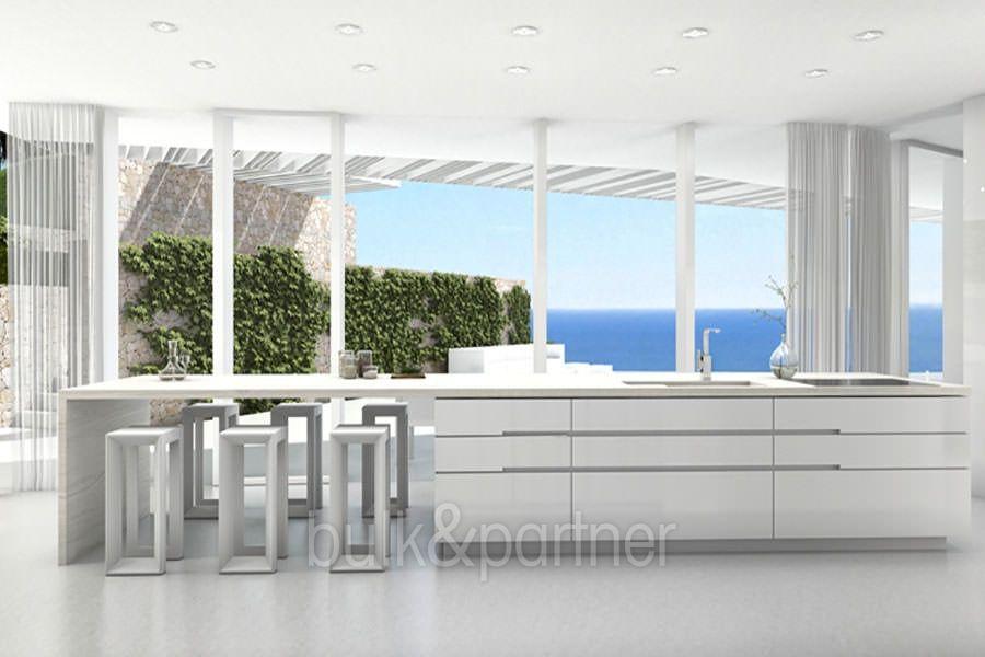 Minimalist Waterfront Luxury Villa J Vea Ambolo Costa Blanca