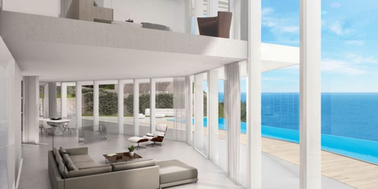 First line luxury Villa in Jávea Ambolo – Living area – ID: 5500655 - Architect Ramón Esteve