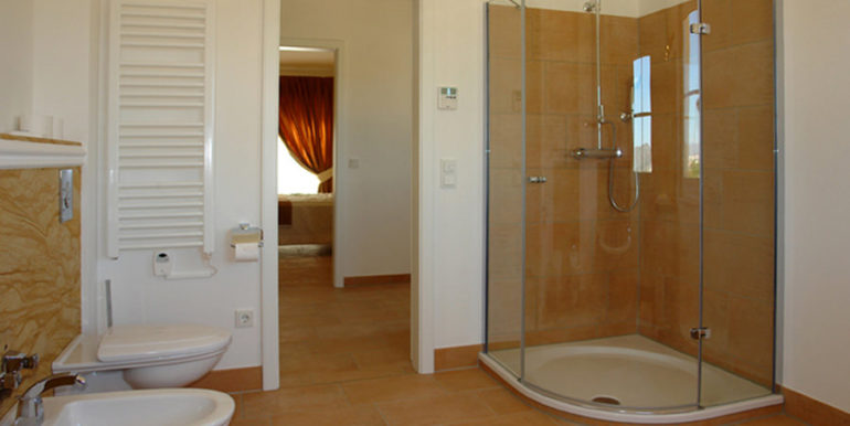 Mediterrane Villa in Moraira Coma de los Frailes - Badezimmer - ID: 5500024 - Fertighaus Hanse Haus Spanien / in Deutschland hergestellt - Fotograf Torsten Bulk